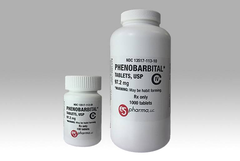 Thuốc trị mất ngủ Phenobarbital