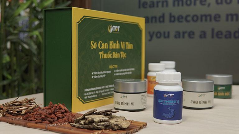 Sơ can Bình vị tán giúp trung hòa axit, giảm đau dạ dày hiệu quả