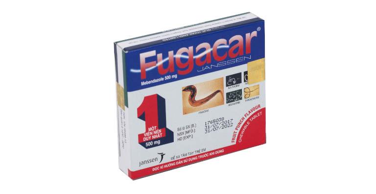 Một số thông tin về thuốc xổ giun Fugacar