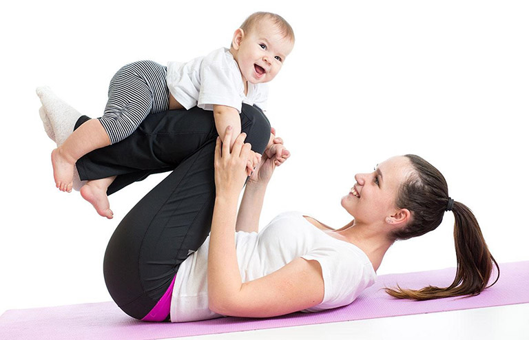 Cách giảm mỡ bụng sau sinh