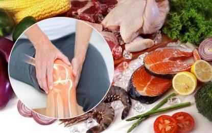 Chế độ ăn cho người thoái hoá khớp
