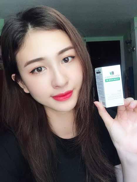 clean acne 3s tri mun co tot khong