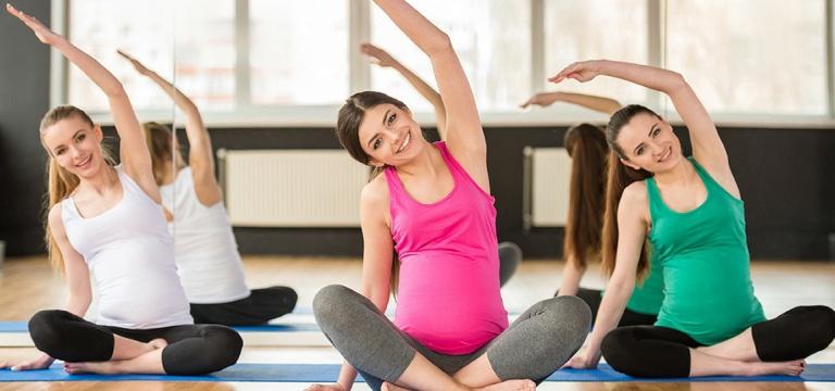 Tập yoga chữa đau thần kinh tọa khi mang thai