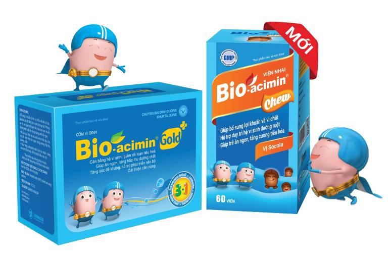 Men vi sinh Bio-acimin (gồm loại Fiber và Gold)
