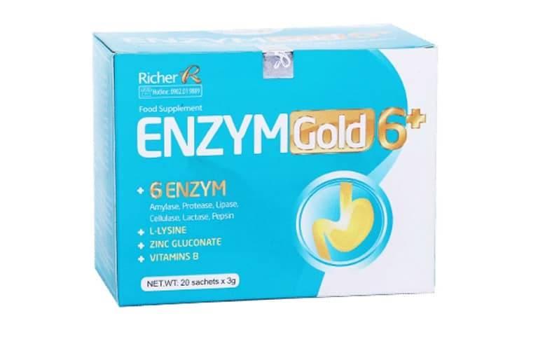 Men tiêu hóa Enzym Gold 6+