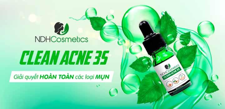 NDHCosmetics Clean Acne 3S