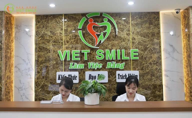Nha khoa Việt Smile - Địa chỉ làm răng đẹp uy tín đáng tin cậy