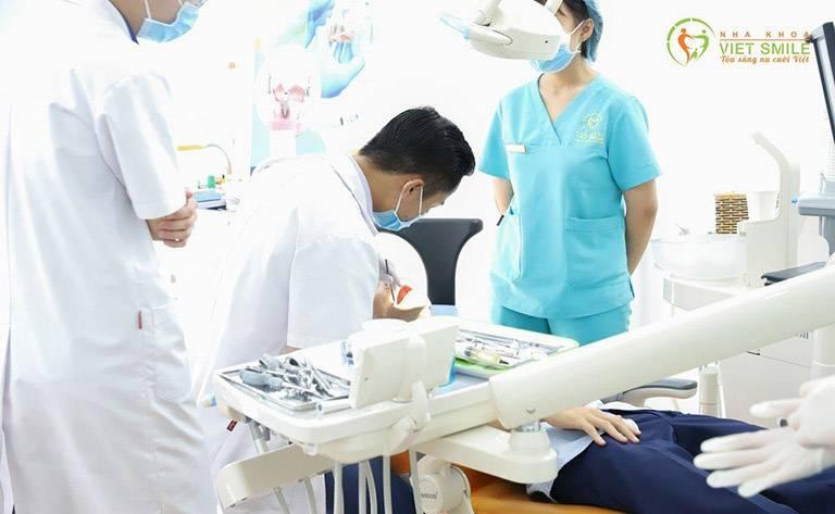 Quy trình thăm khám - điều trị tại Nha khoa Việt Smile