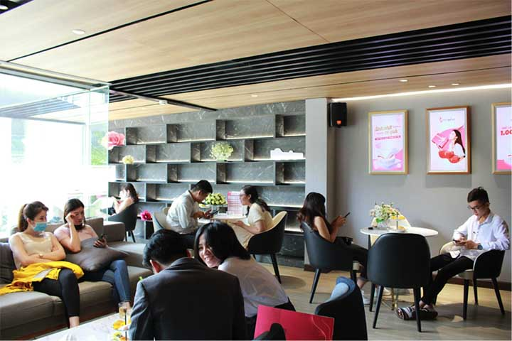 Phòng chờ Seoul Center