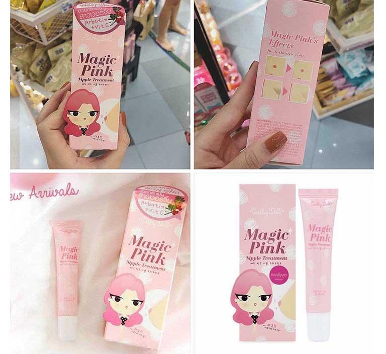 sản phẩm làm hồng nhũ hoa