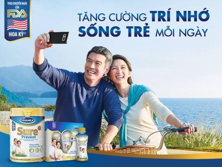 Sure Prevent là sản phẩm của Vinamilk và được ưa chuộng rất lớn tại Việt Nam. Theo thống kê lớn từ 3 trang thương mại điện tử dưới đây