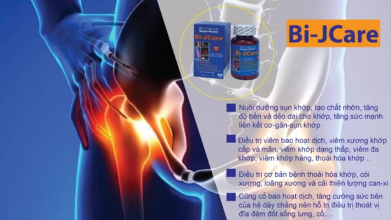Viên uống Bi – Jcare hỗ trợ điều trị thoát vị đĩa đệm