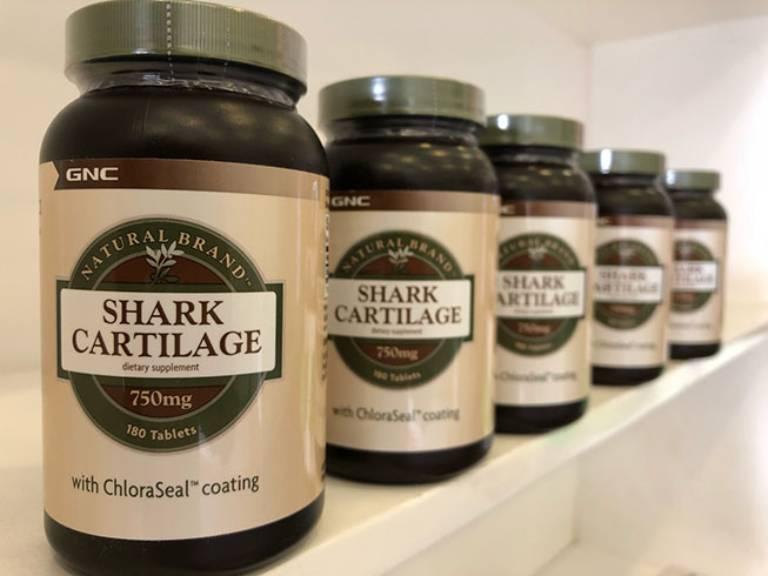 Viên uống sụn vi cá mập GNC Shark Catilage 750mg