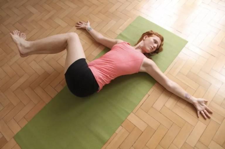 Bài tập yoga tư thế vặn mình