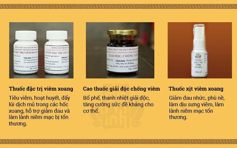Bài thuốc chữa bệnh viêm xoang Đỗ Minh Đường