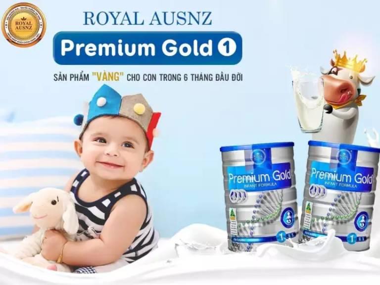 Sữa Hoàng Gia Úc Royal Ausnz