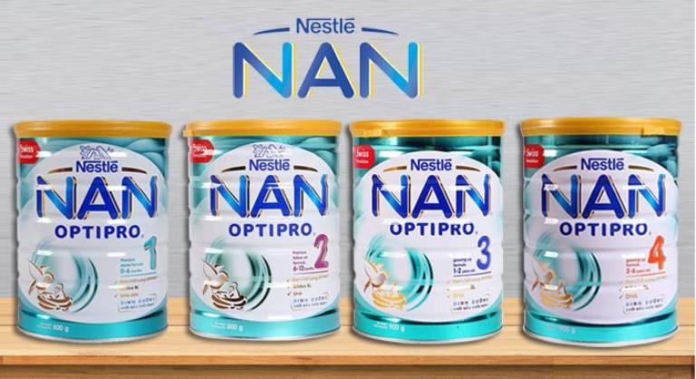 Sữa Nan Optipro giúp cải thiện chứng táo bón ở bé