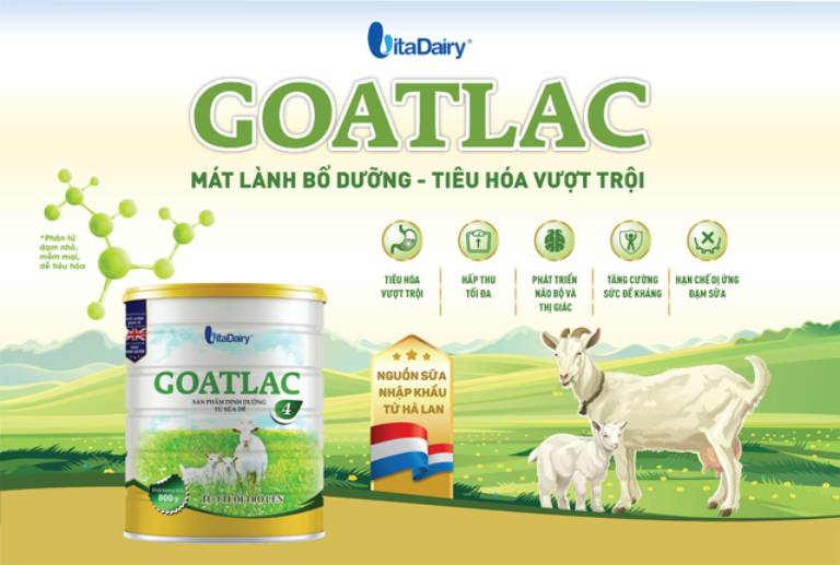 Sữa dê Goatlac