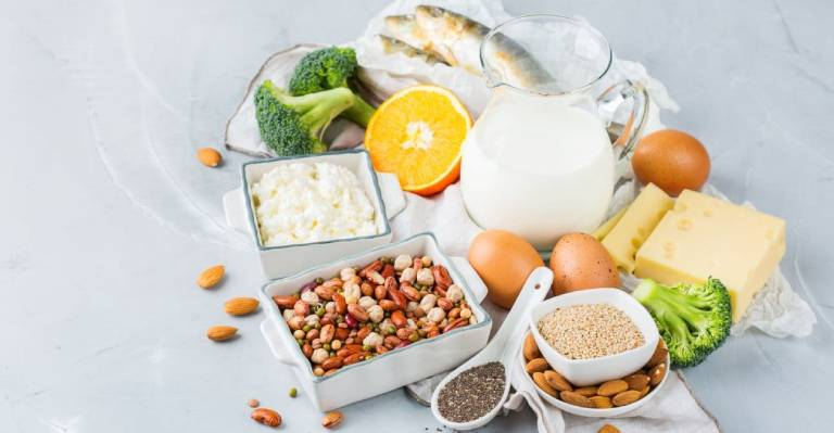 Nhóm thực phẩm chứa hàm lượng canxi dồi dào