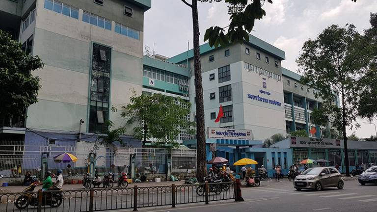 Khoa Xương khớp thuộc Bệnh viện Nguyễn Tri Phương