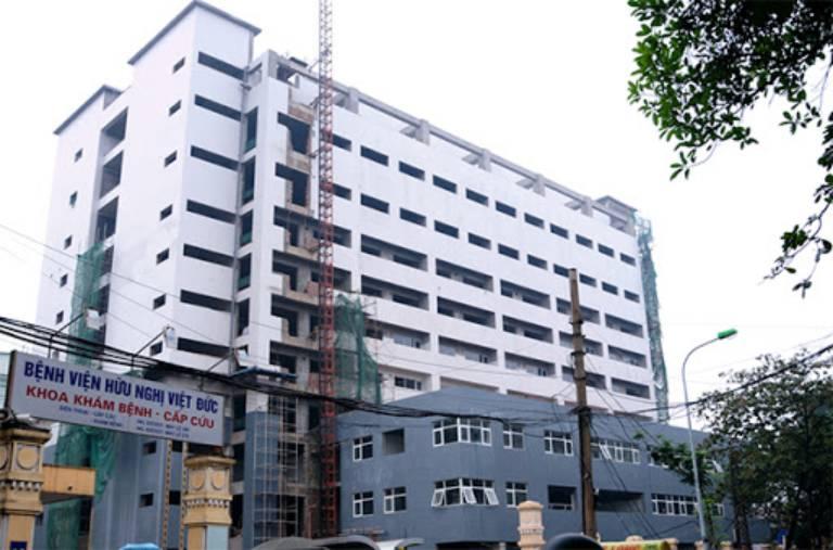 Khoa Phục hồi chức năng của Bệnh viện Hữu Nghị Việt Đức