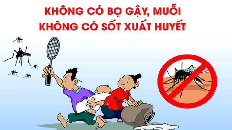 Loại bỏ môi trường sinh sản và phát triển của muỗi, bọ gậy, lăng quăng