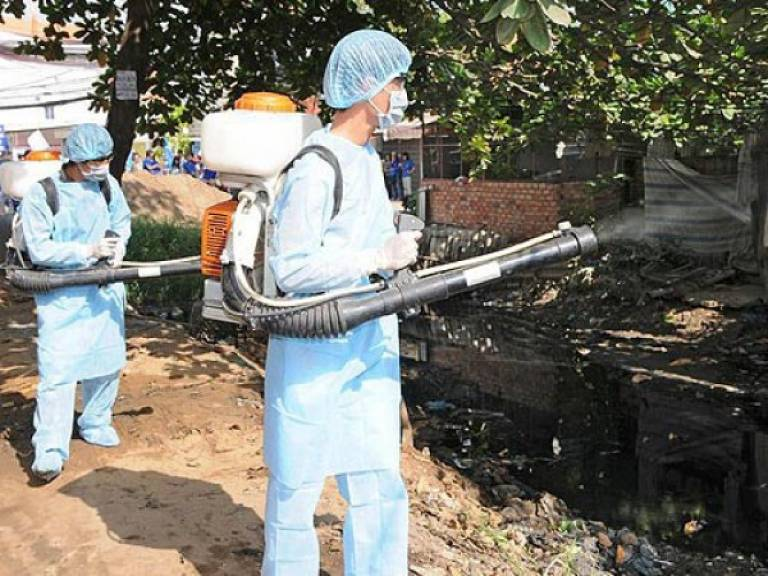 Tích cực tham gia các phong trào phòng chống dịch bệnh sốt xuất huyết