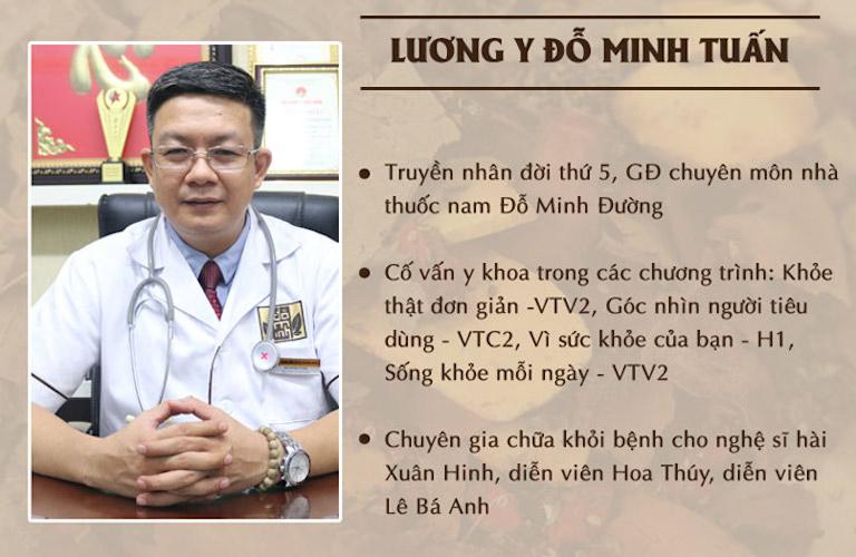 Lương y Đỗ Minh Tuấn - cố vấn y khoa chương trình Khỏe thật đơn giản