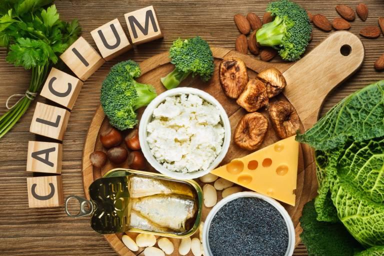 Các thực phẩm chứa hàm lượng canxi dồi dào