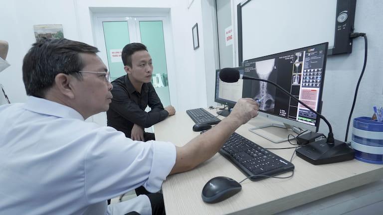 Bệnh viện đầu tư máy móc, trang thiết bị hiện đại phục vụ cho công tác thăm khám và điều trị cho người bệnh