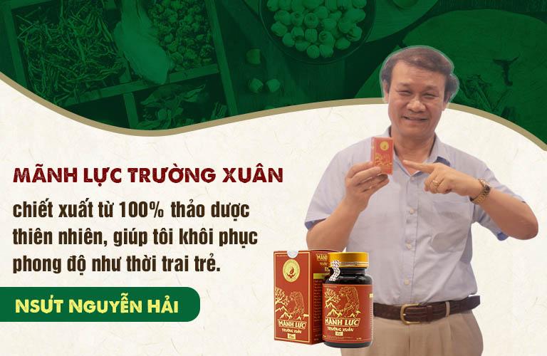 Mãnh lực trường xuân giúp NSND Nguyễn Hải tìm lại phong độ