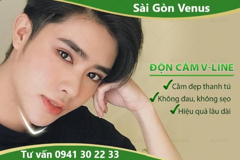 Thẩm mỹ viện Sài Gòn Venus - Cơ sở độn cằm V Line đẹp tại TPHCM