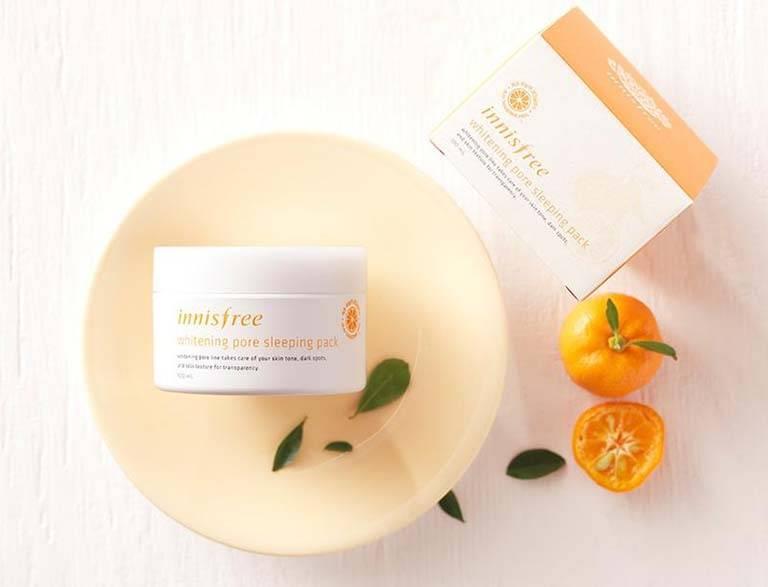 Kem dưỡng sáng da Innisfree Whitening Pore Cream