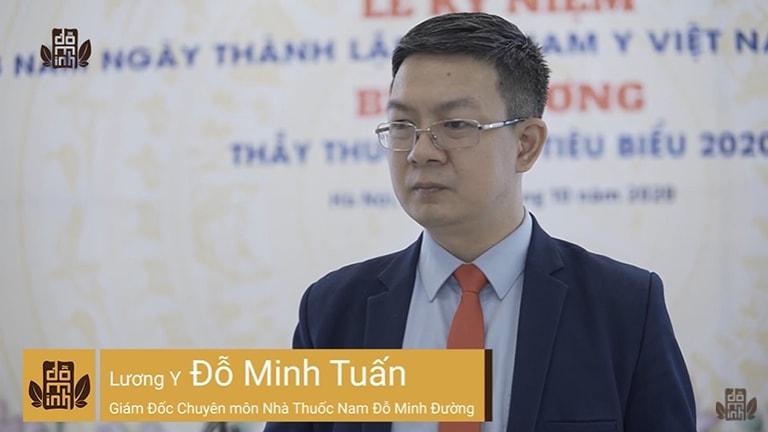 Lương y Đỗ Minh Tuấn được Vinh danh, nhận danh hiệu Thầy thuốc Nam tiêu biểu