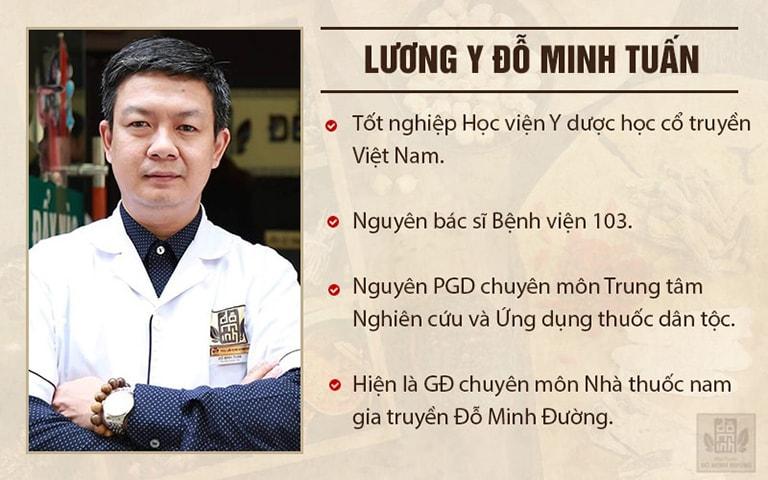 Thông tin công tác của lương y Đỗ Minh Tuấn