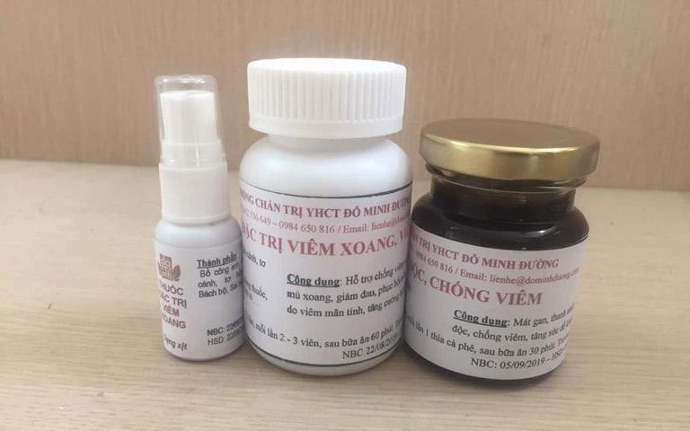 Bài thuốc đặc trị viêm xoang, viêm mũi dị ứng của nhà thuốc nam Đỗ Minh Đường