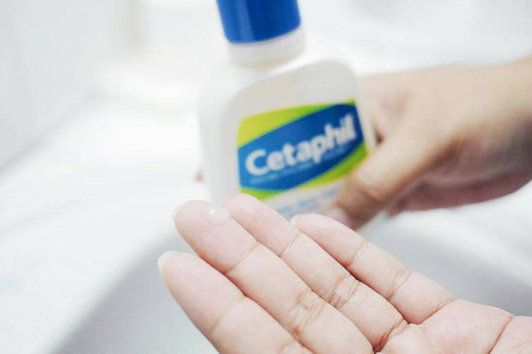Hướng dẫn cách sử dụng sữa rửa mặt Cetaphil