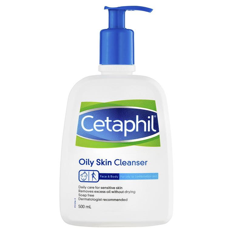 2. Sữa rửa mặt Cetaphil Oily Skin Cleanser