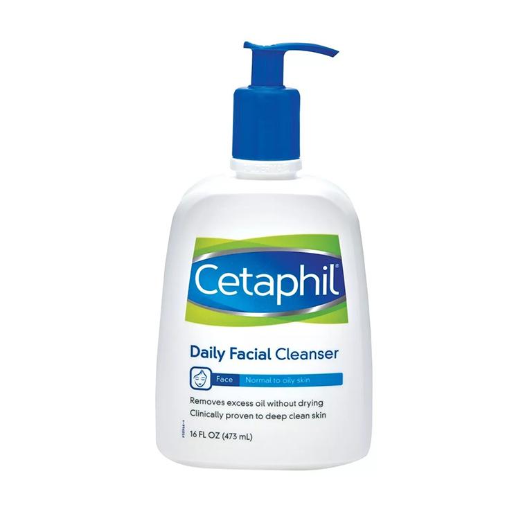 Sữa rửa mặt Cetaphil dành cho da thường và da hỗn hợp
