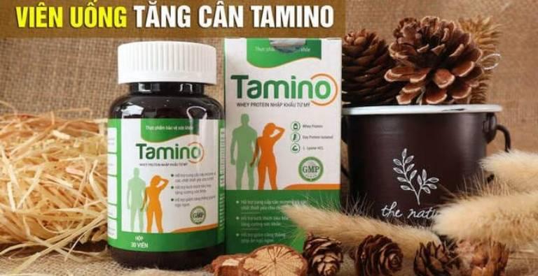 Viên uống Tamino giúp tăng cân an toàn, hiệu quả