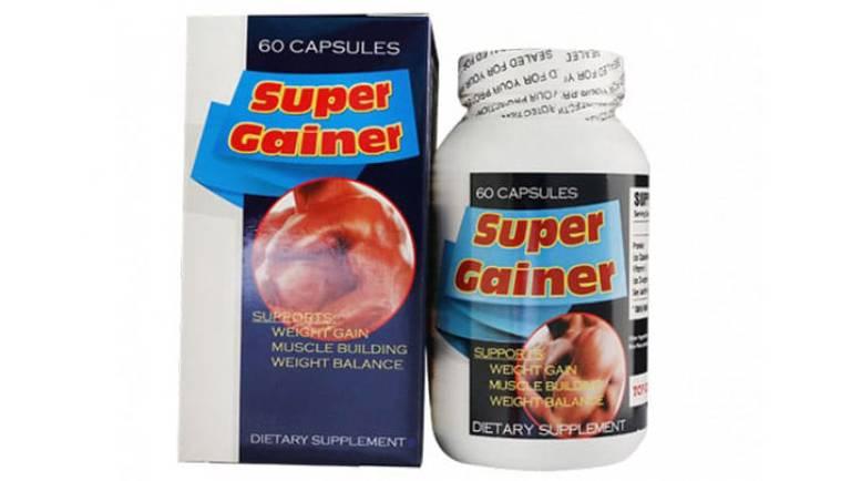 Viên uống tăng cân Super Gainer