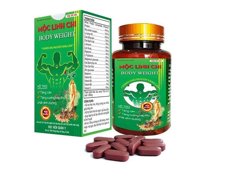 TPBVSK Mộc Linh Chi Body Weight - Sản phẩm tăng cân an toàn hiệu quả