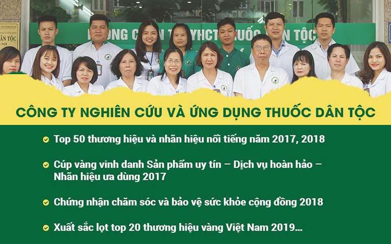 Trung tâm Thuốc dân tộc chữa dạ dày - Địa chỉ uy tín với nhiều giải thưởng cao quý