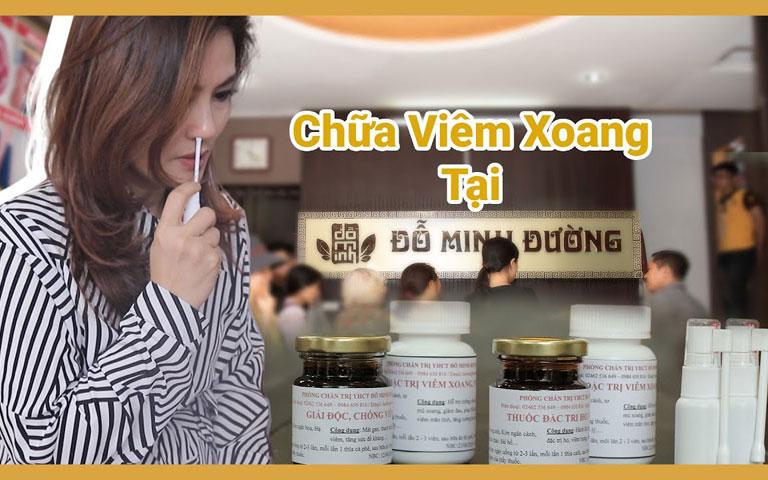 Diễn viên Hoa Thúy có 3 tháng sử dụng bài thuốc viêm xoang tại Đỗ Minh Đường