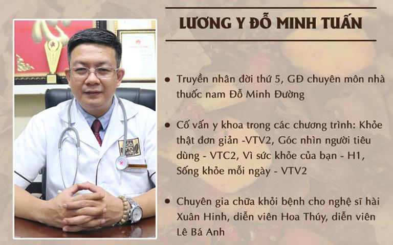 Lương y Đỗ Minh Tuấn - Cố vấn chuyên môn trong nhiều chương trình sức khỏe uy tín