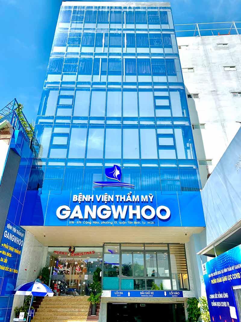 Bệnh viện thẩm mỹ Gangwhoo cộng hoà TPHCM