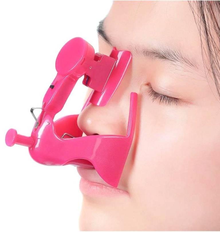 Sử dụng kẹp nâng mũi