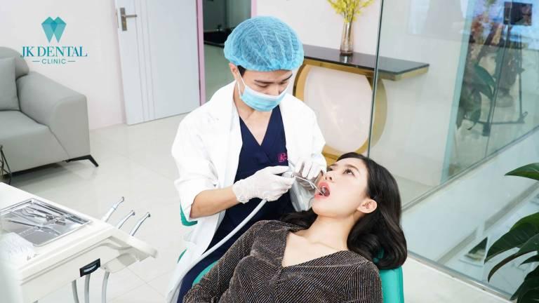 Quy trình thăm khám và điều trị tại Nha khoa JK Dental