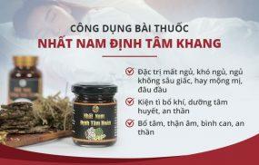 """Nhất Nam Định Tâm Khang - """"Tiên dược"""" chữa mất ngủ từ vua Gia Long có hiệu quả như lời đồn?"""