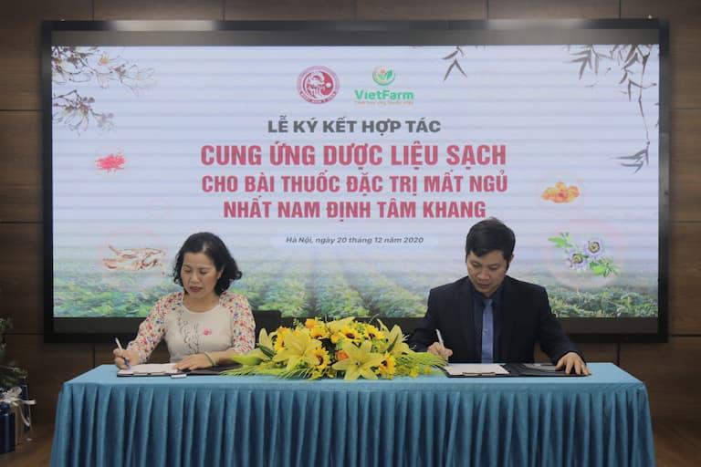 Hợp tác cung ứng dược liệu sạch cho bài thuốc Nhất Nam Định Tâm Khang